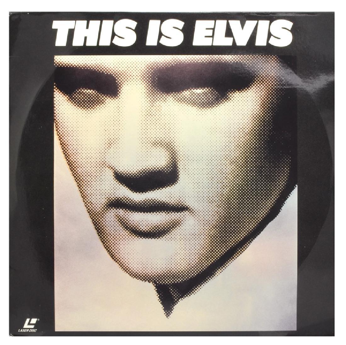 Rare Original Vintage Laser Disc 'This Is Elvis'