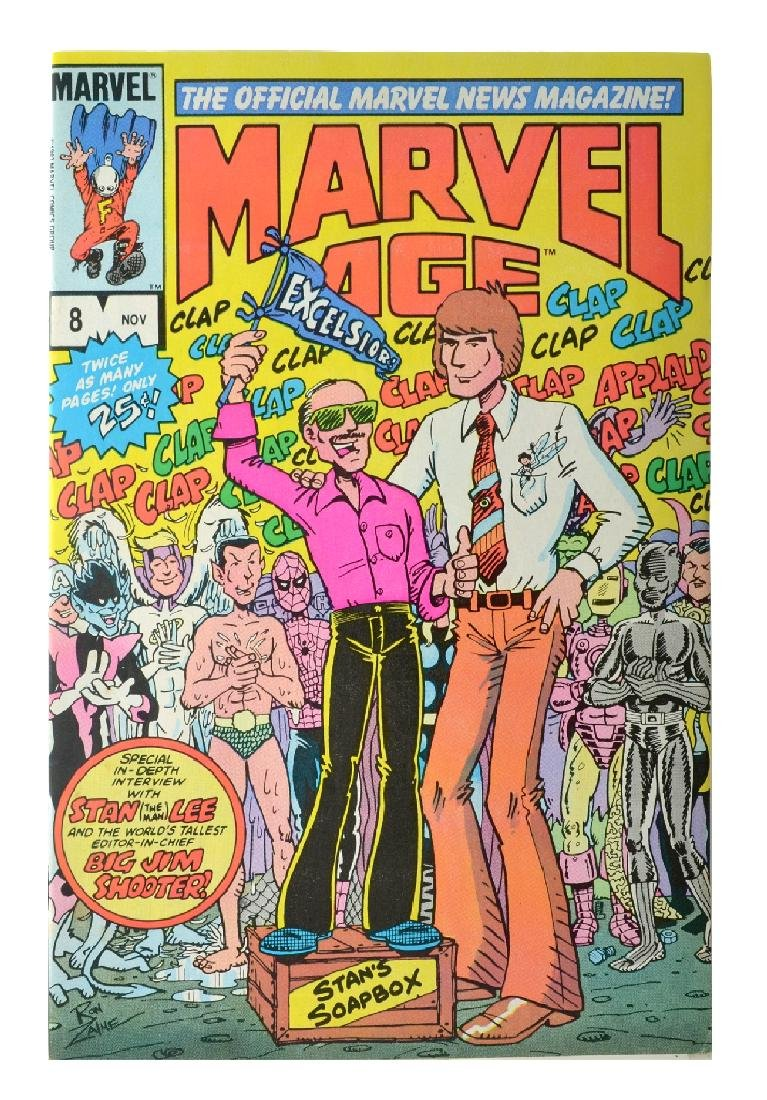 Marvel Age (1983) Issue 8