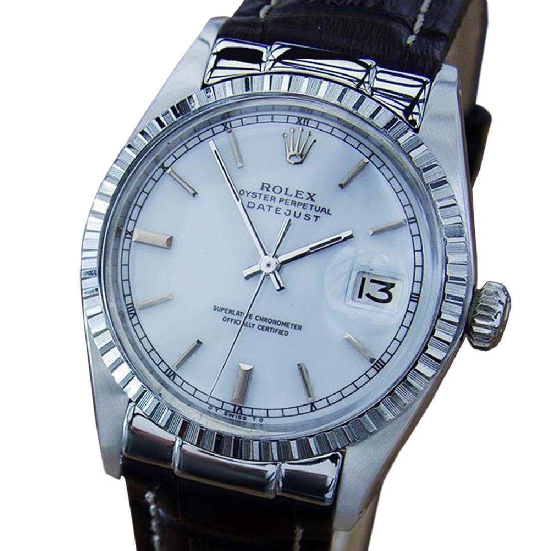 *Rolex Oyster Datejust 1603 Mens Rare Vintage 1971