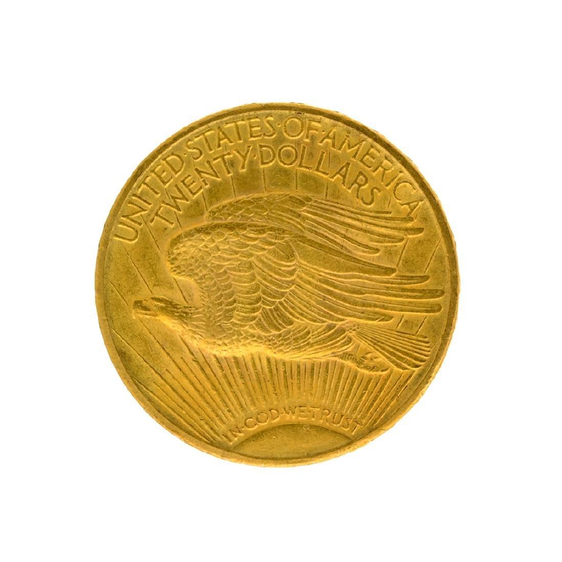 1915 $20 St. Gaudens U.S. Gold Coin - 2