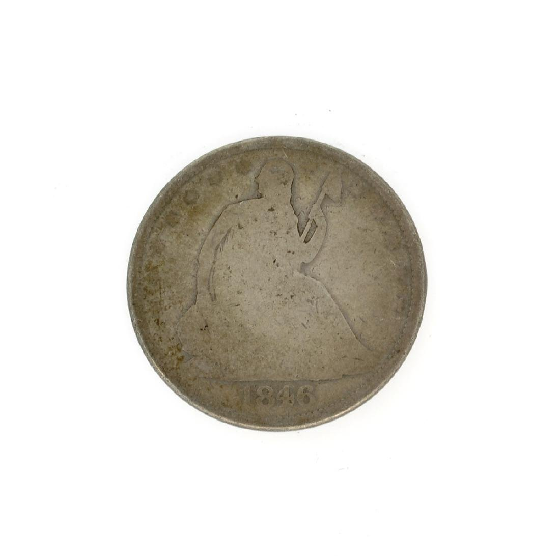 Rare 1846-O Liberty Seated Half Dollar Coin