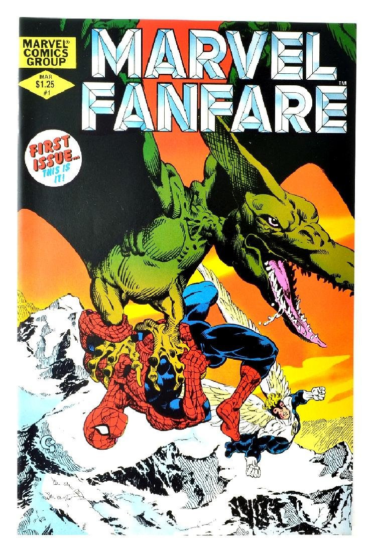 Marvel Fanfare (1982 1st Series) Issue 1