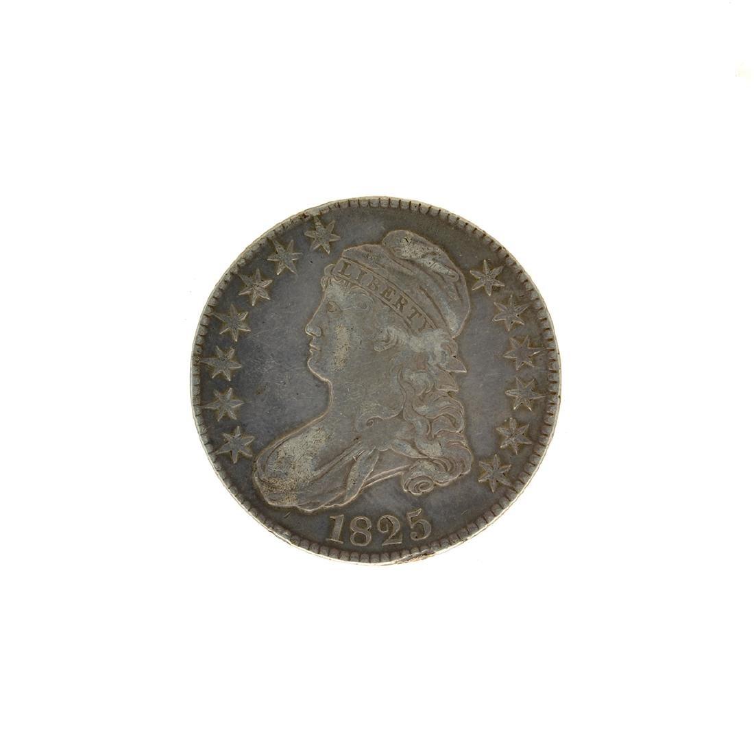 1825 Bust Half Dollar Coin