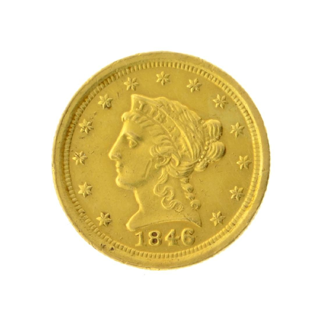 1846-O $2.50 Liberty Head Gold Coin