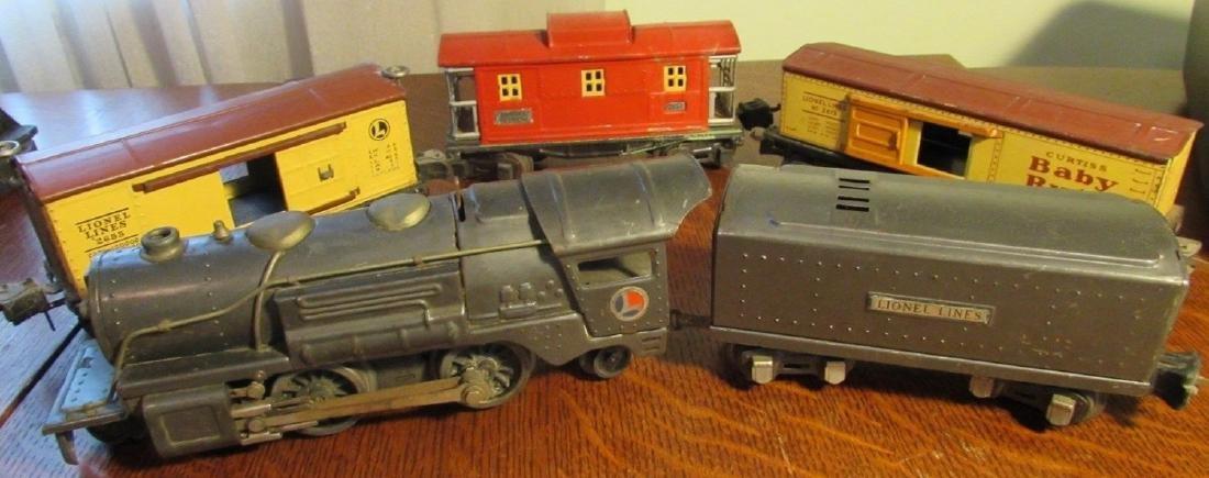 Rare Prewar Lionel 259E Engine & Tender 2689W & 2655
