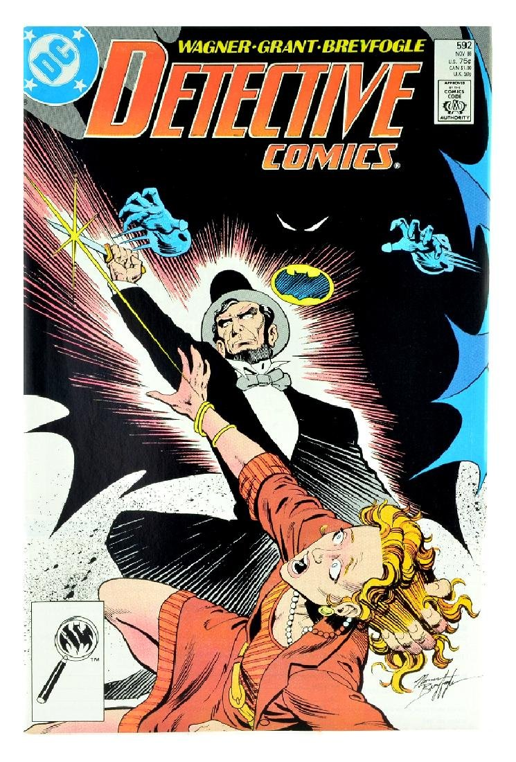 Detective Comics (1937 1st Series) Issue 592