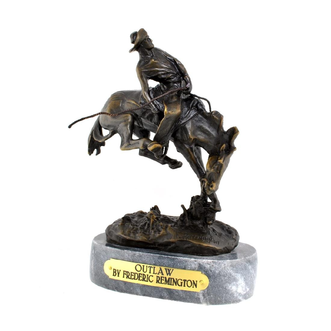 Outlaw- By Frederic Remington- Bronze Reissue