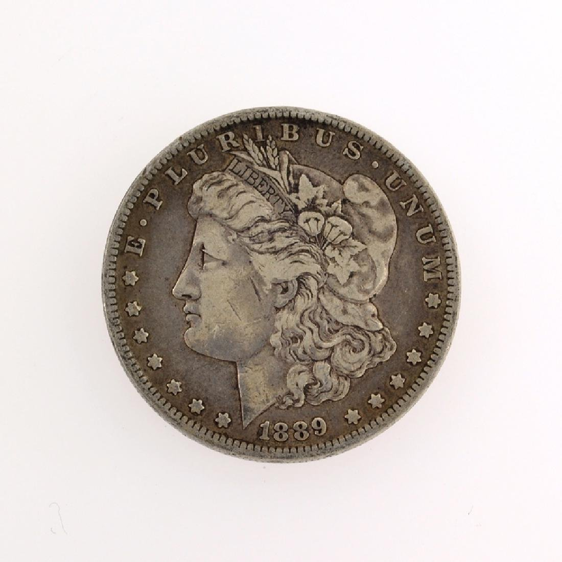 1889 Morgan Silver Dollar Coin