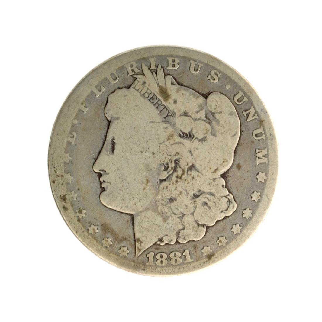 1881-CC Morgan Silver Dollar Coin