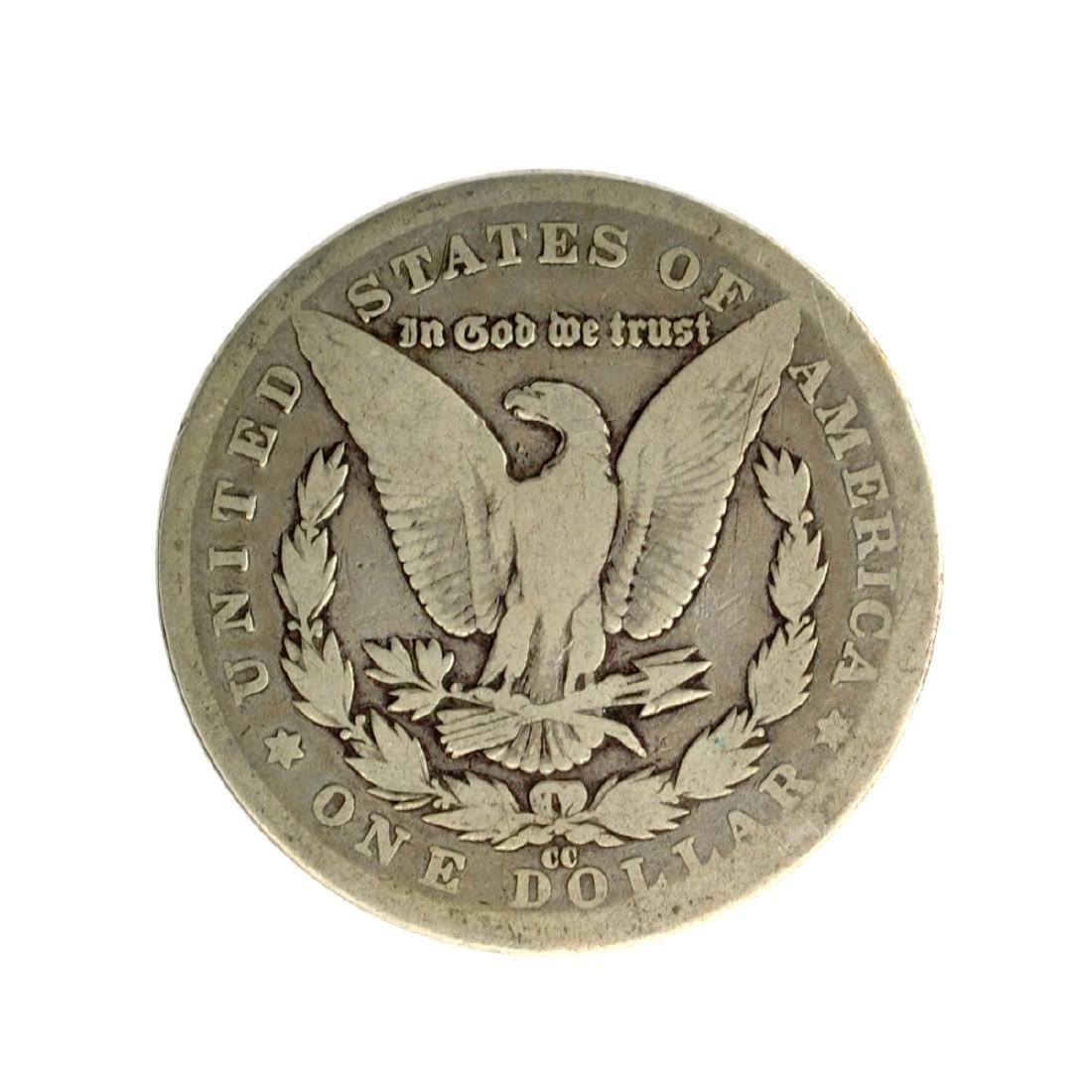 1881-CC Morgan Silver Dollar Coin - 2
