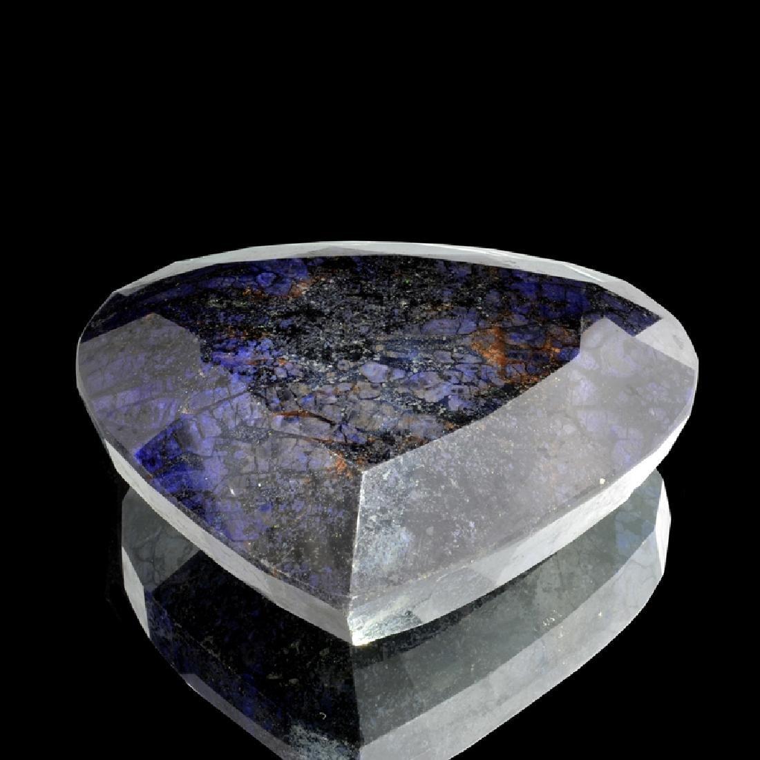 APP: 13k 4,231.50CT Pear Cut Blue Sapphire Gemstone