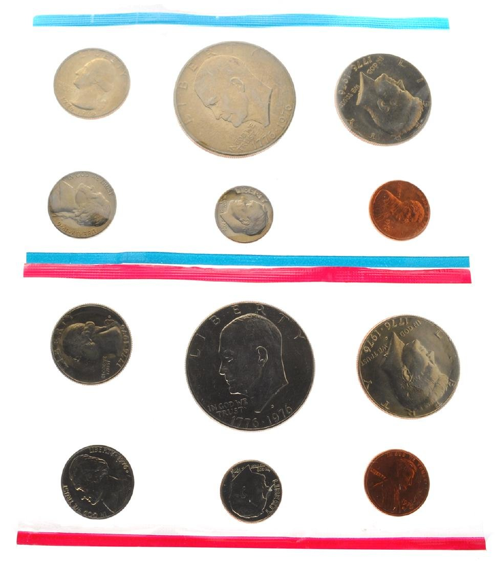 1976 United States Mint Uncirculated Set Coin