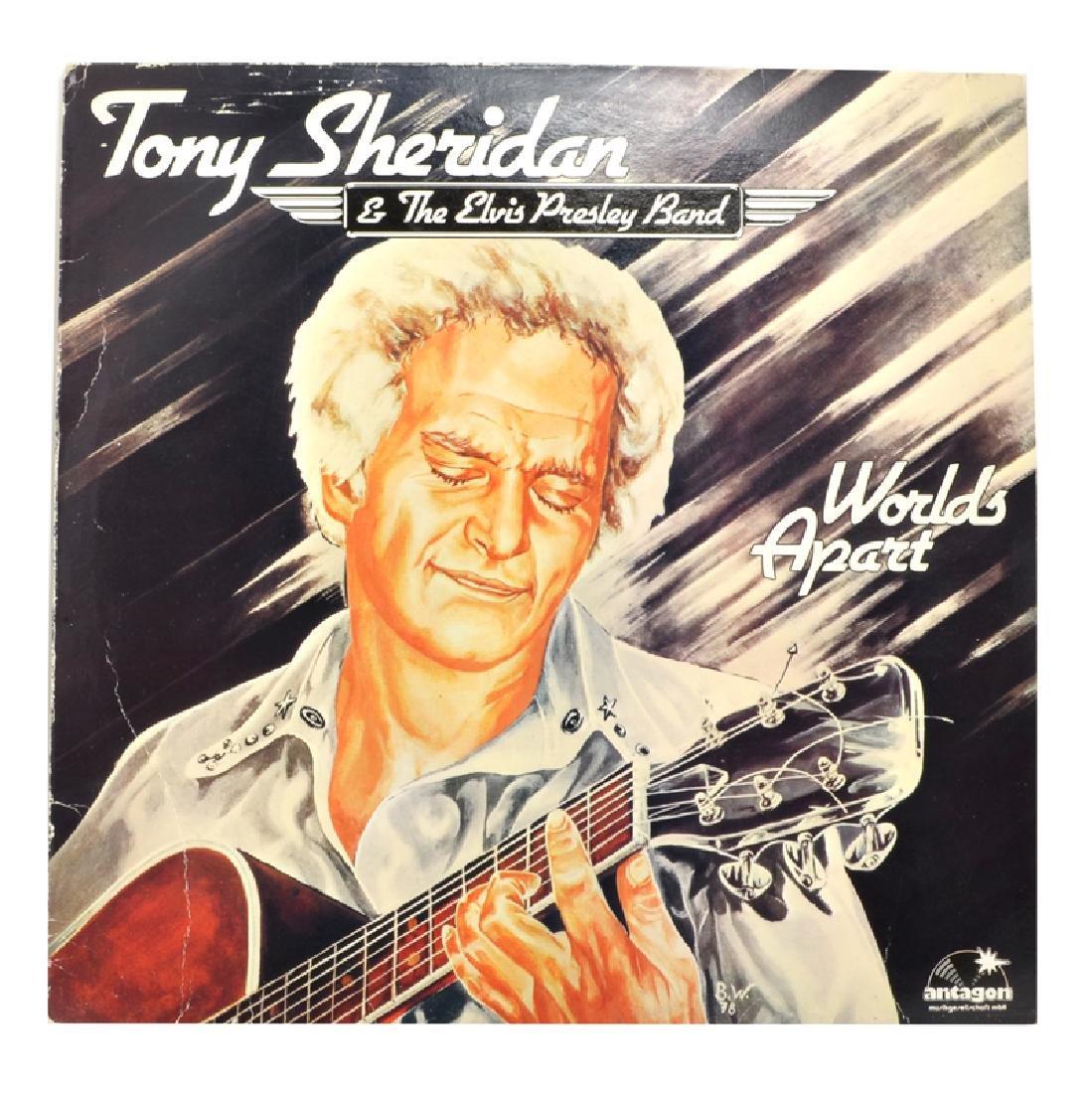 Rare Original Vintage Tony Sheridan & The Elvis Presley