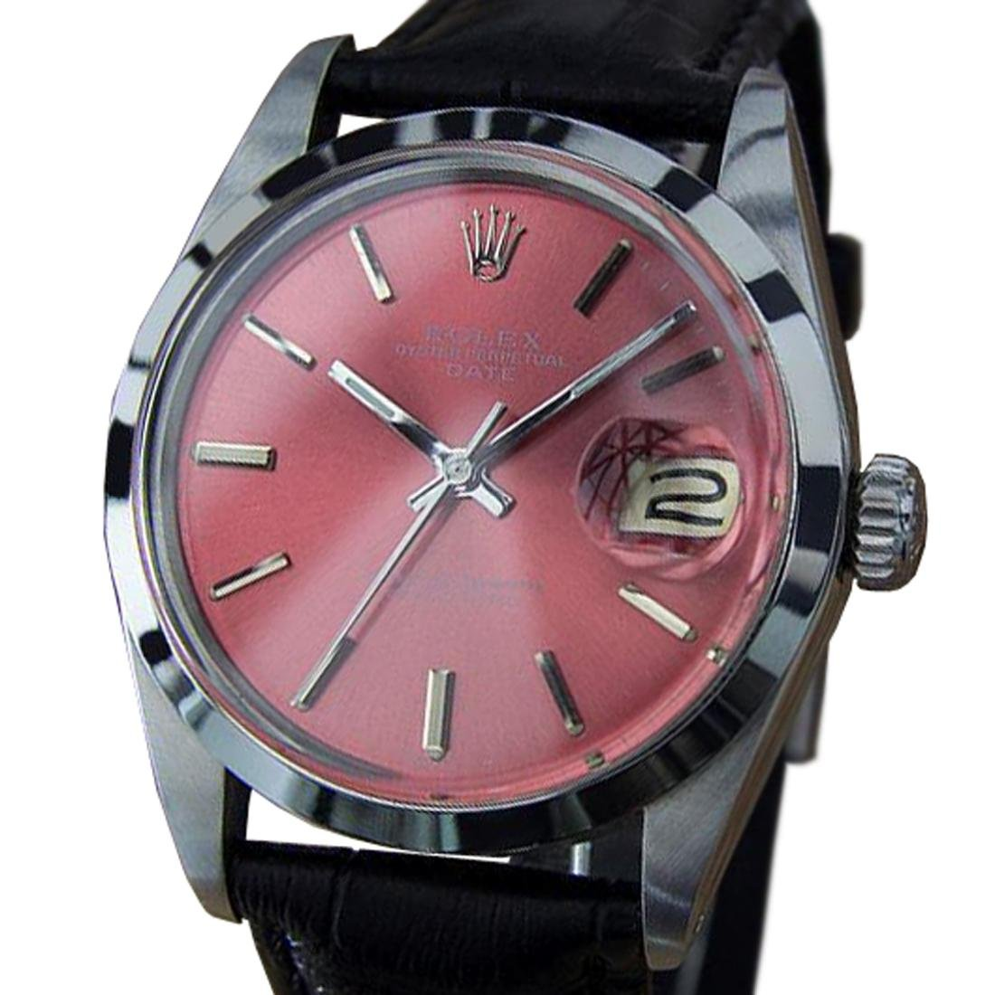 *Rolex Oyster 1500 Swiss Made Automatic Watch With