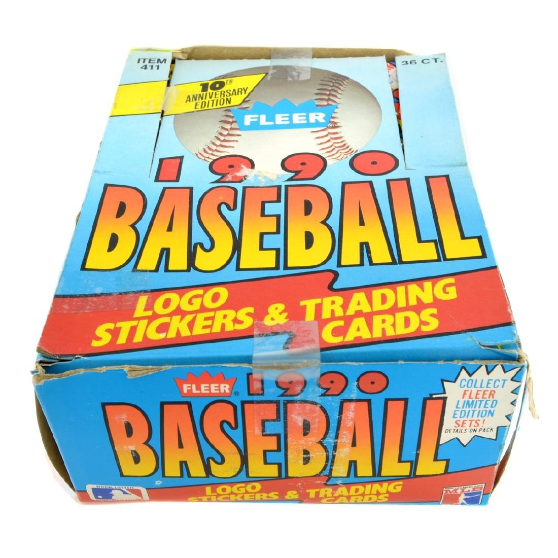 Limited Edition 1990 Fleer Baseball Card Set
