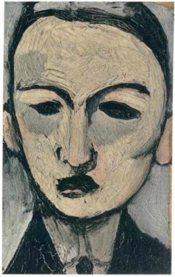 Henri Matisse ''''117 George Besson'''' 12 x 17 Paper
