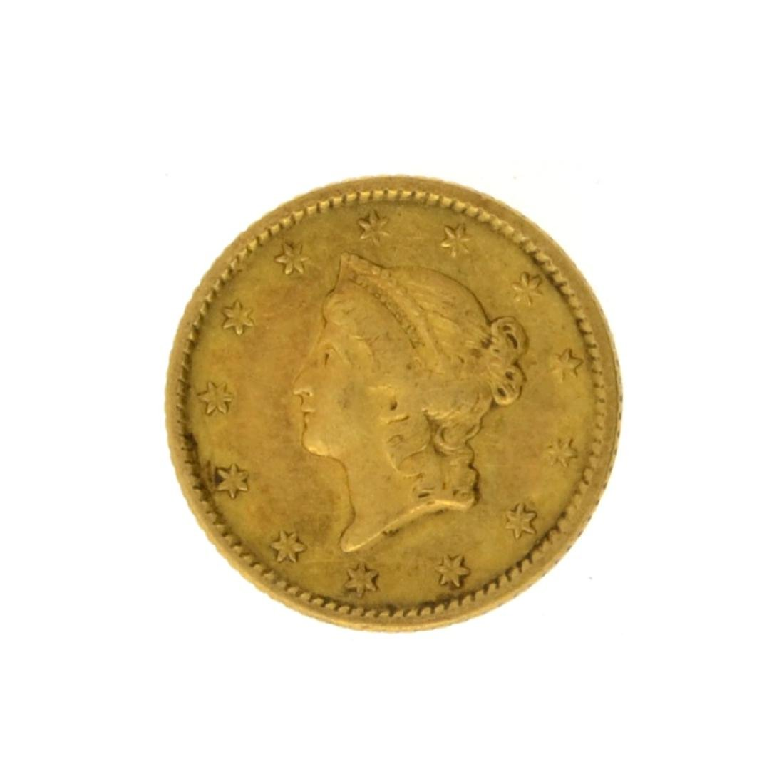 1851 $1 Liberty Head Gold Coin
