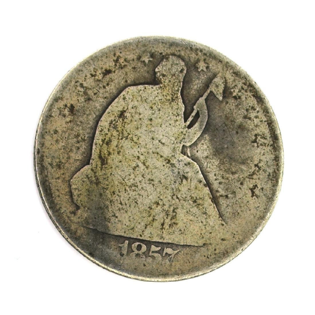 1857-O Liberty Seated Half Dollar Coin