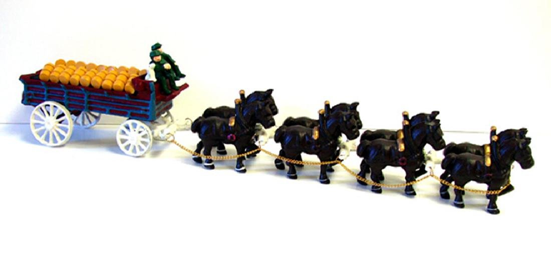 8 Horse Beer Wagon