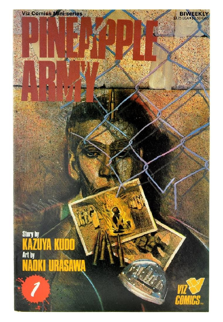 Pineapple Army (1988) Issue 1