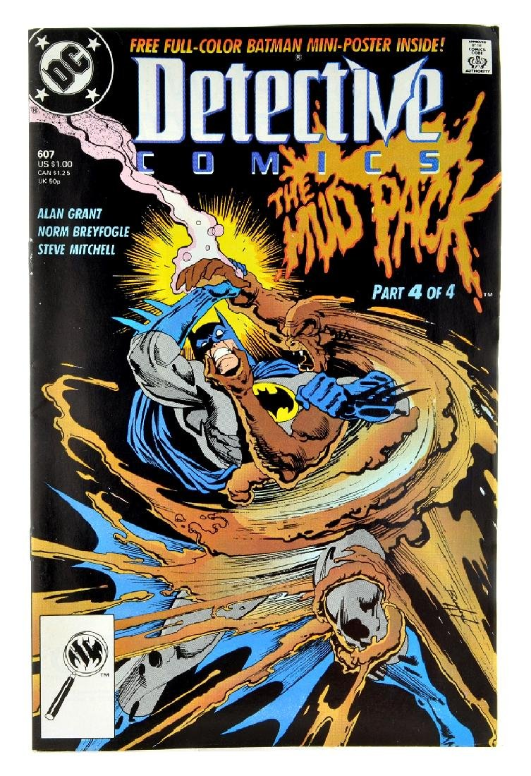 Detective Comics (1937 1st Series) Issue 607