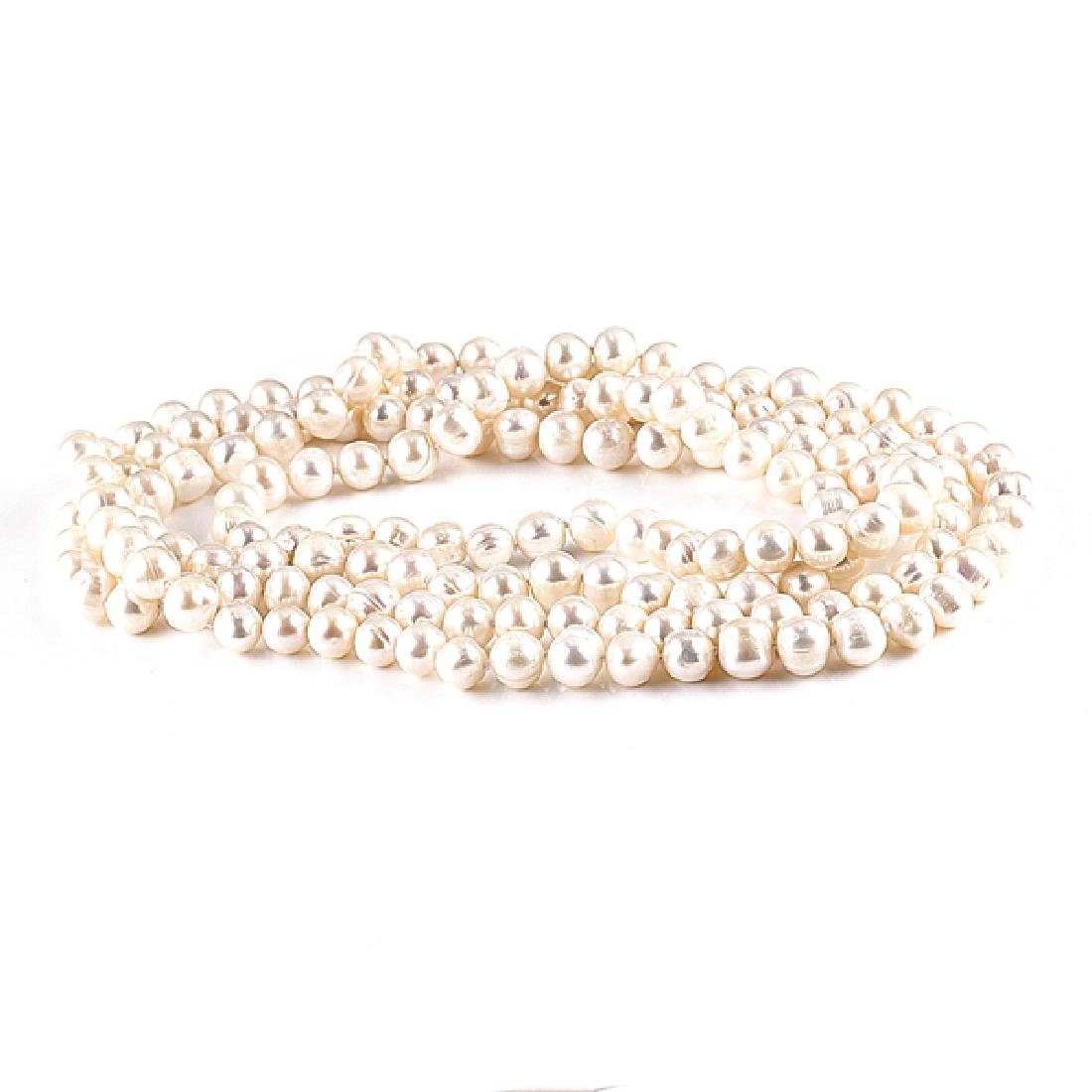 APP: 3k 52'' Pearl Strand Necklace