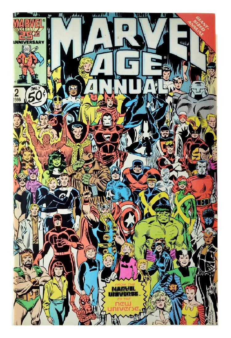 Marvel Age (1983) Issue Annual  2