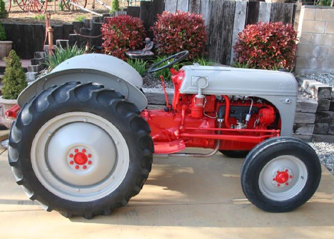 Rare 8 Ford Tractor Fully Restored Inside/Out - Pick Up
