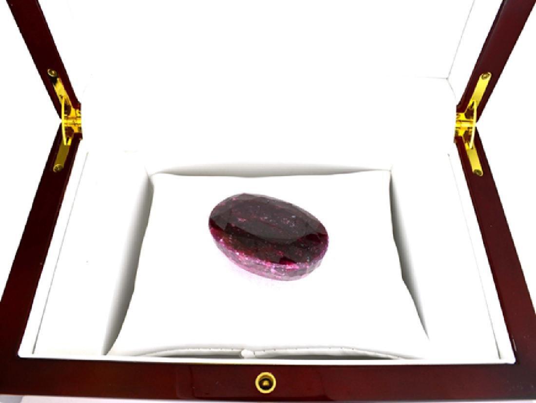APP: 1.1k 367.00CT Oval Cut Ruby Gemstone