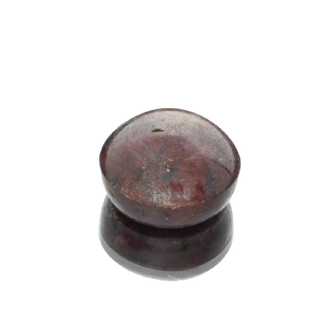 APP: 2.7k 68.68CT Cabochon Red Star Ruby Gemstone