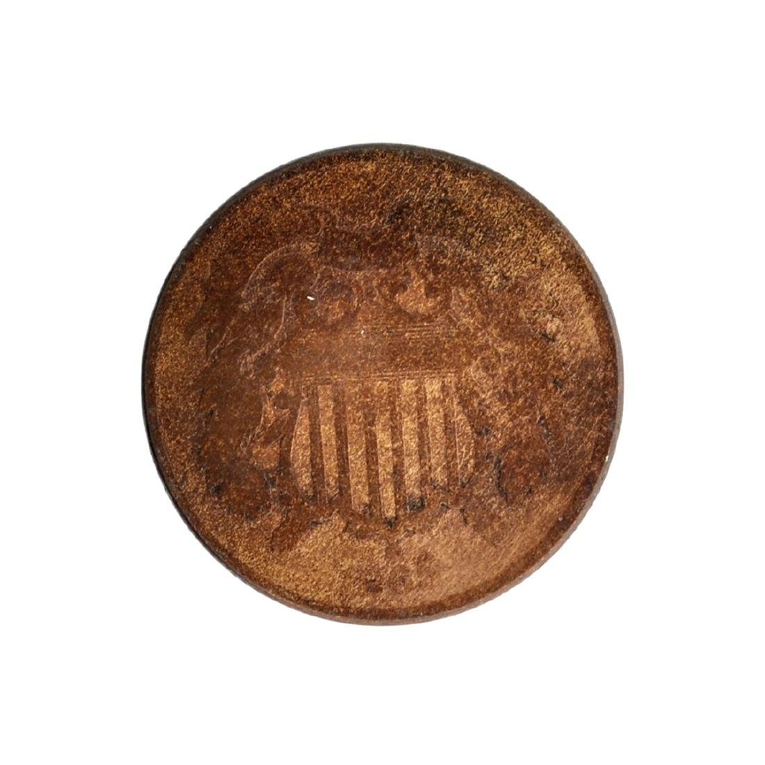 1865 Two-Cent Coin