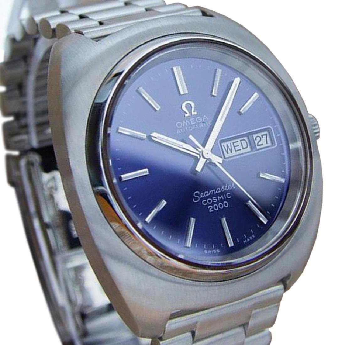 *Omega Seamaster Cosmic 2000 Mens Automatic Stainless