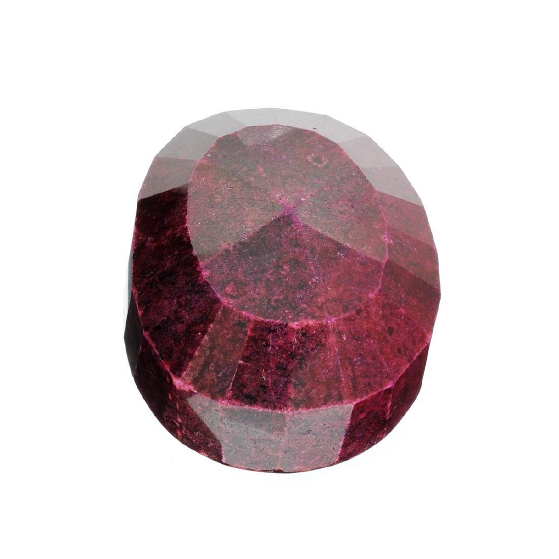 APP: 9.9k 2,466.00CT Oval Cut Ruby Gemstone
