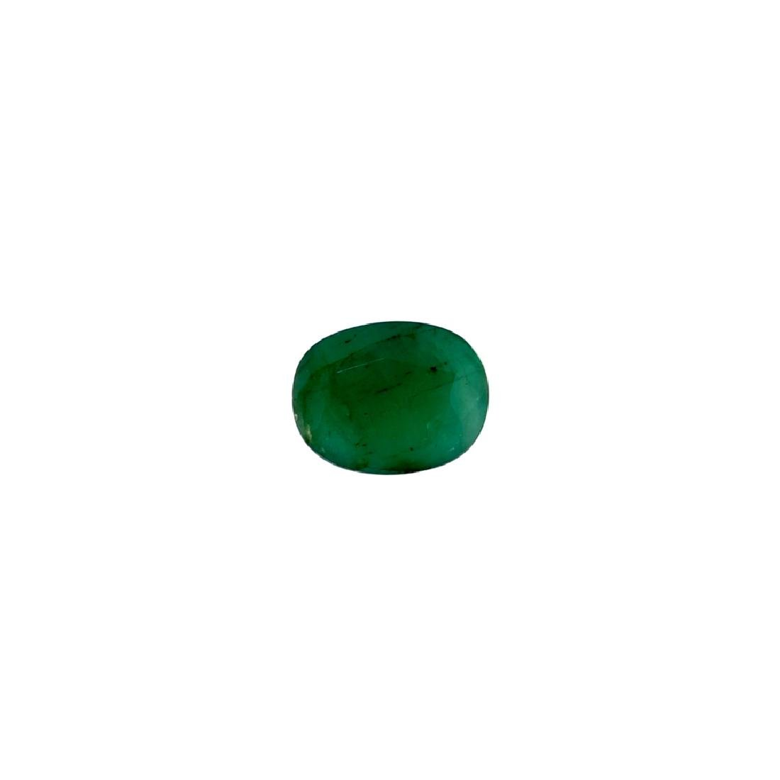 APP: 2.6k 3.50CT Oval Cut Green Emerald Gemstone