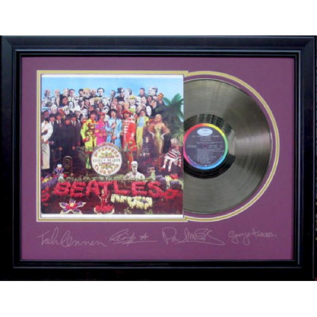 Beatles Gold Album - Plate Signatures