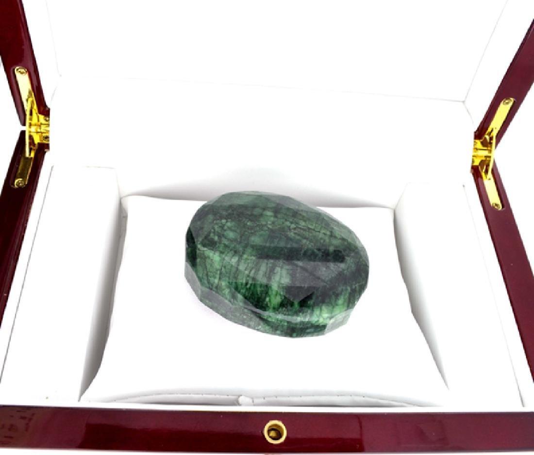 APP: 4.5k 638.50CT Oval Cut Green Beryl Emerald