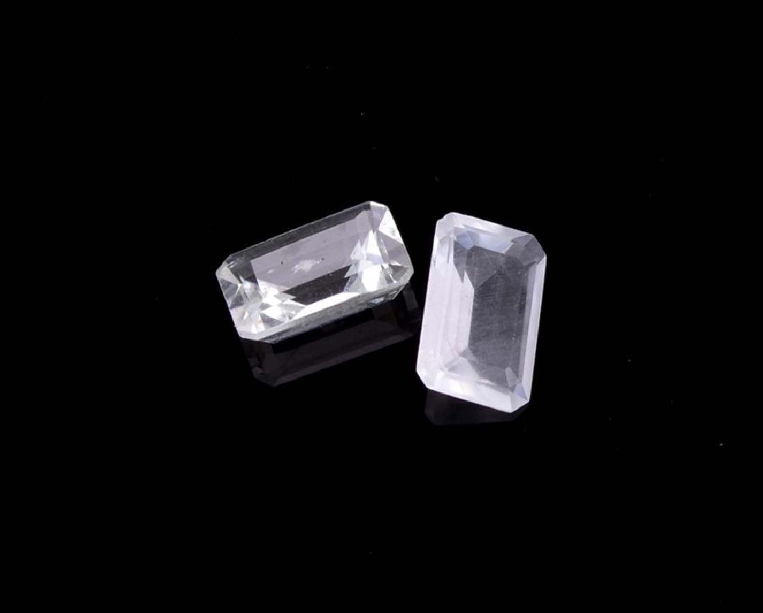 APP: 1.2k 3.09CT Rectangular Step Cut Natural