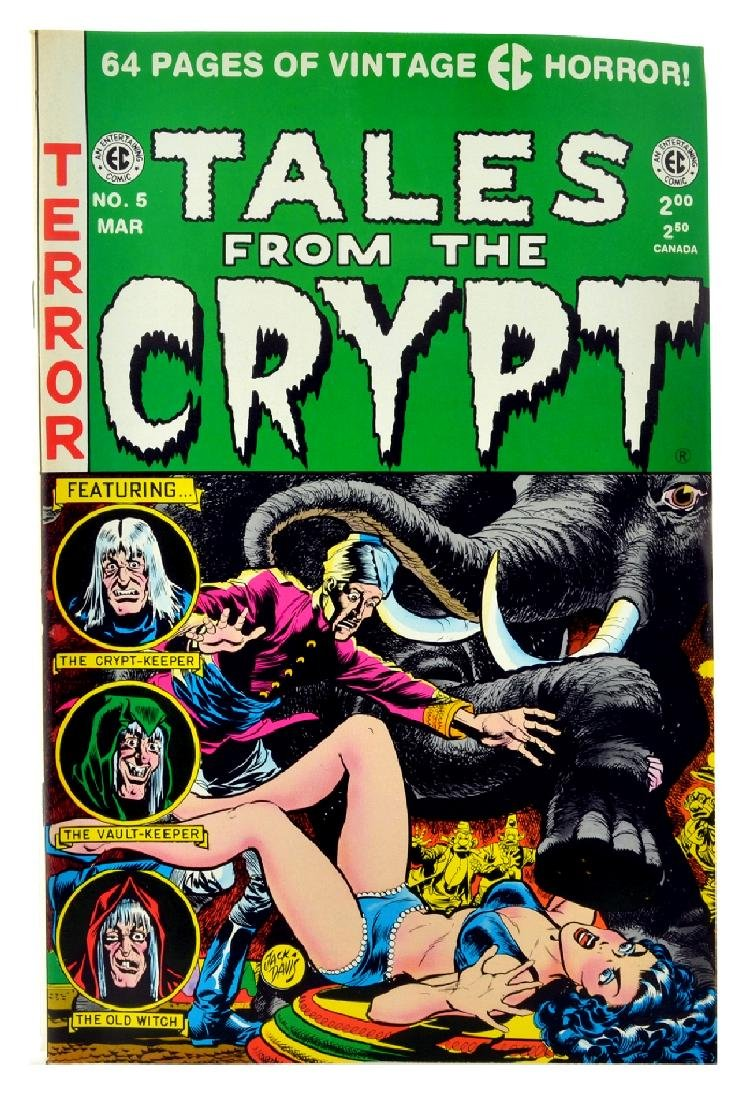 Tales from the Crypt (1991 Russ Cochran) Issue 5