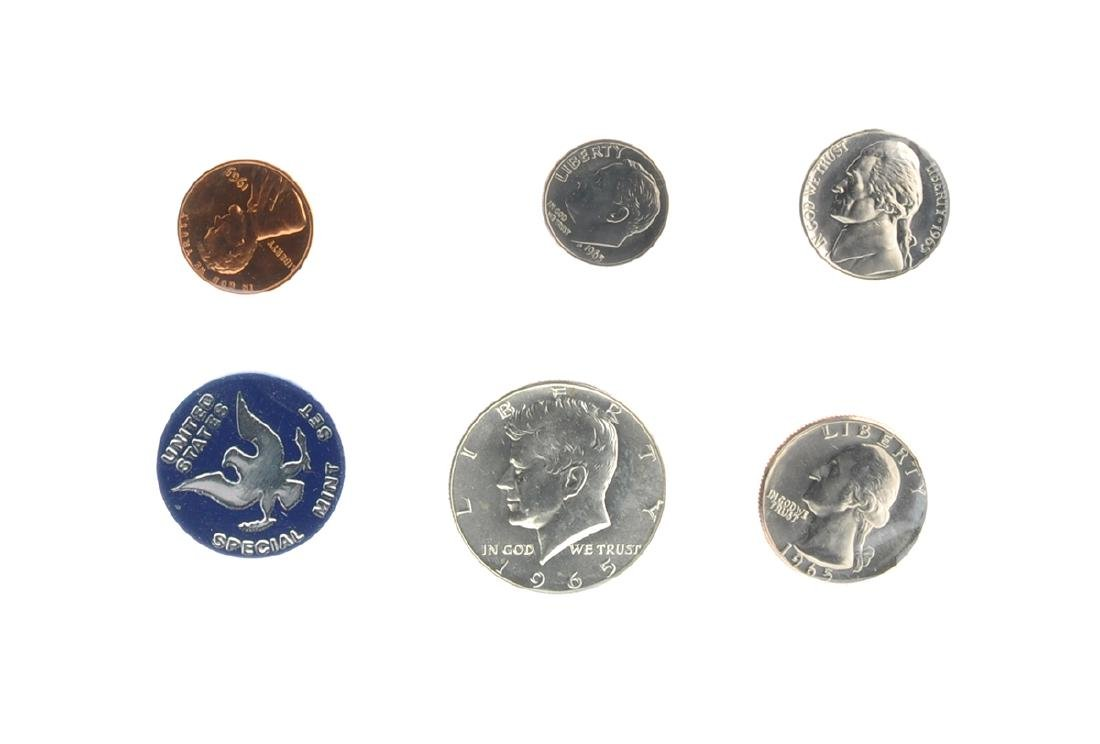 1965 U.S. Uncirculated Mint Coin Set