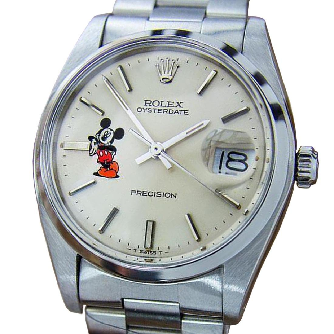*Rolex Oysterdate Precision 6694 Mickey Swiss Made