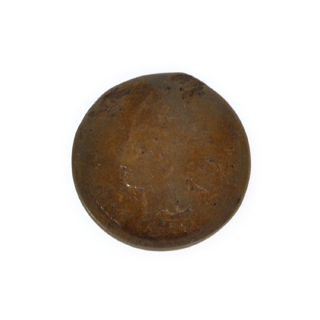 Rare 1877 Indian Cent Coin