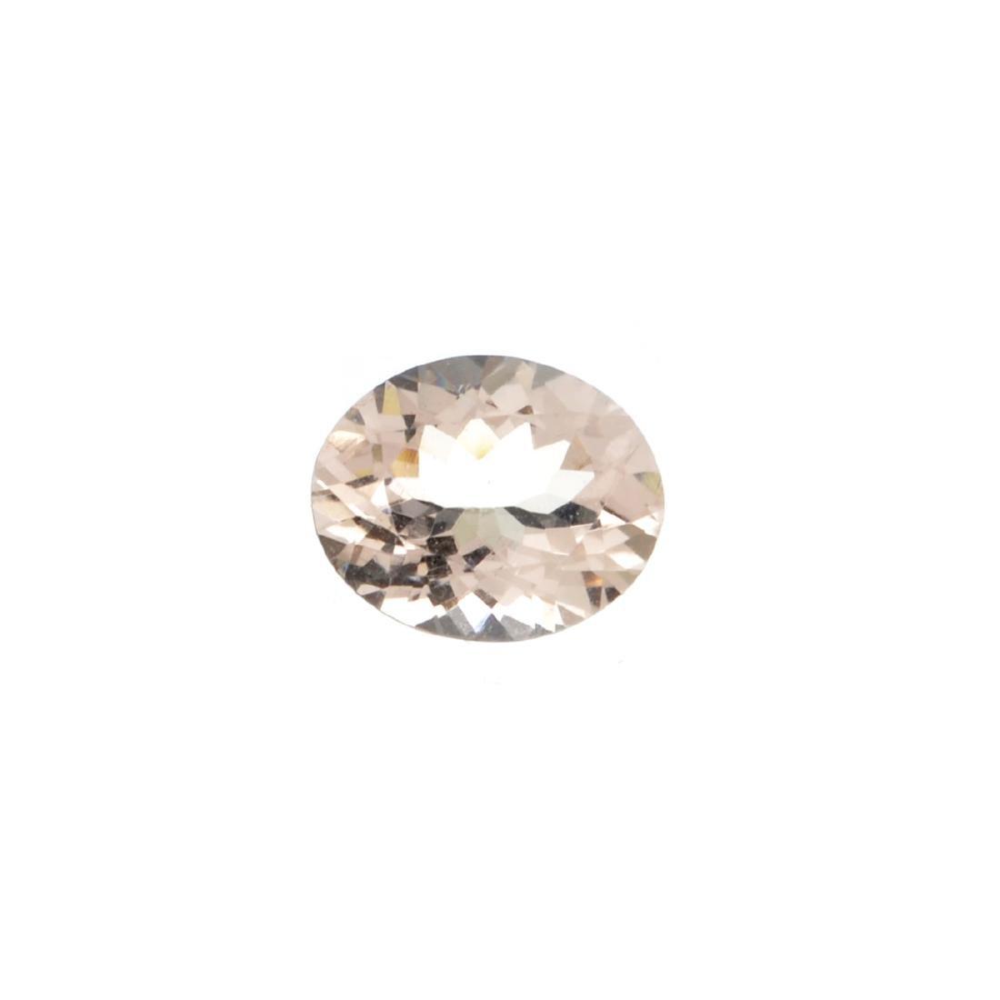 High End Rare 2.85CT Morganite Stone