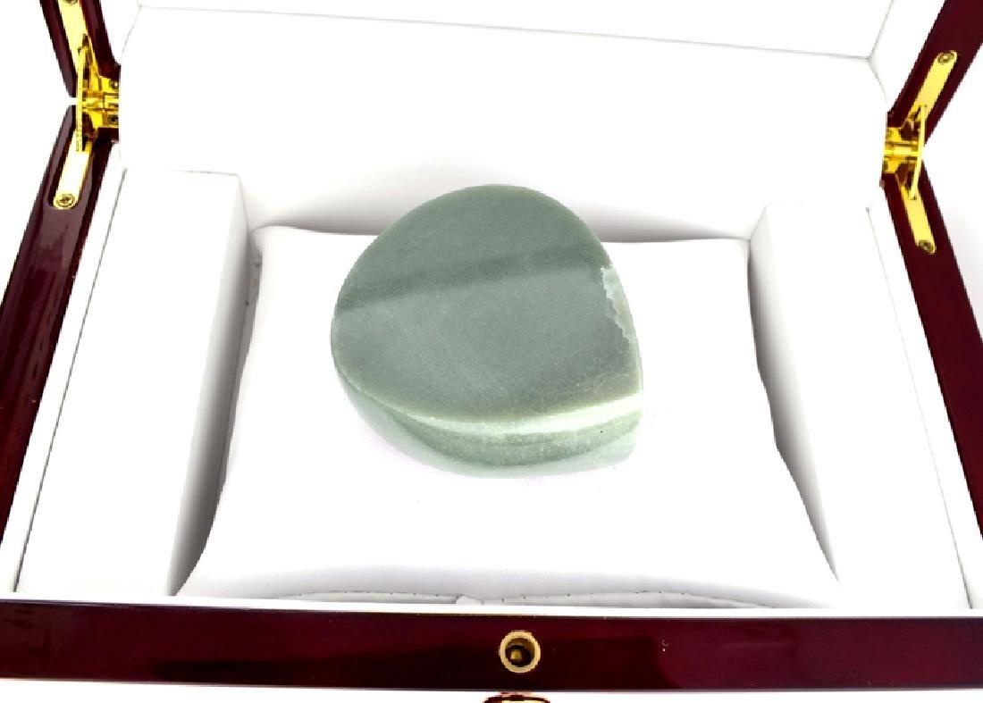 APP: 9.9k 989.00CT Pear Cut Cabochon Jade Gemstone