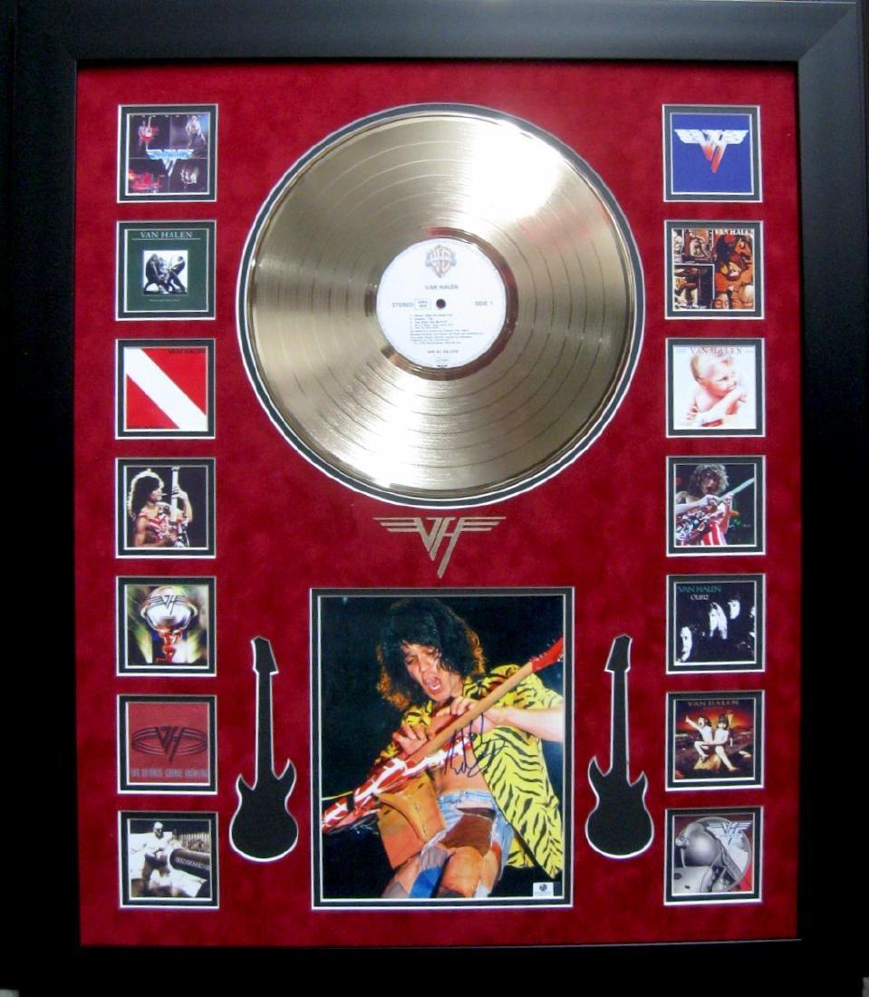 Van Halen Ablum Collage With Album