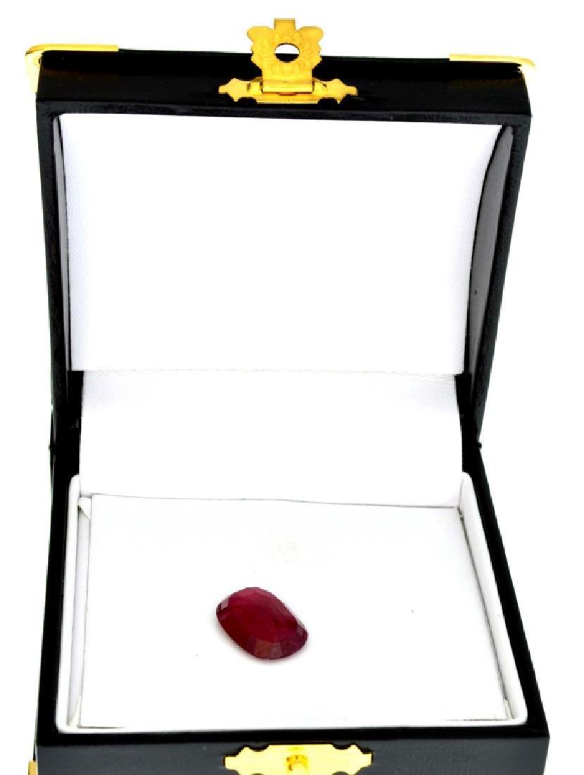 APP: 6.5k 7.27CT Oval Cut Ruby Gemstone - 2