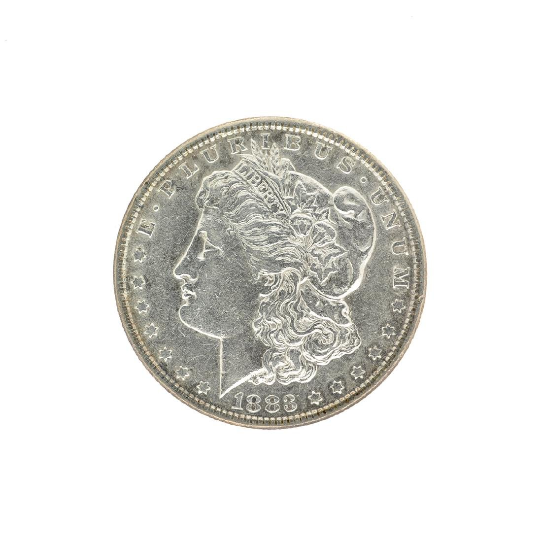 1883 Morgan Silver Dollar Coin