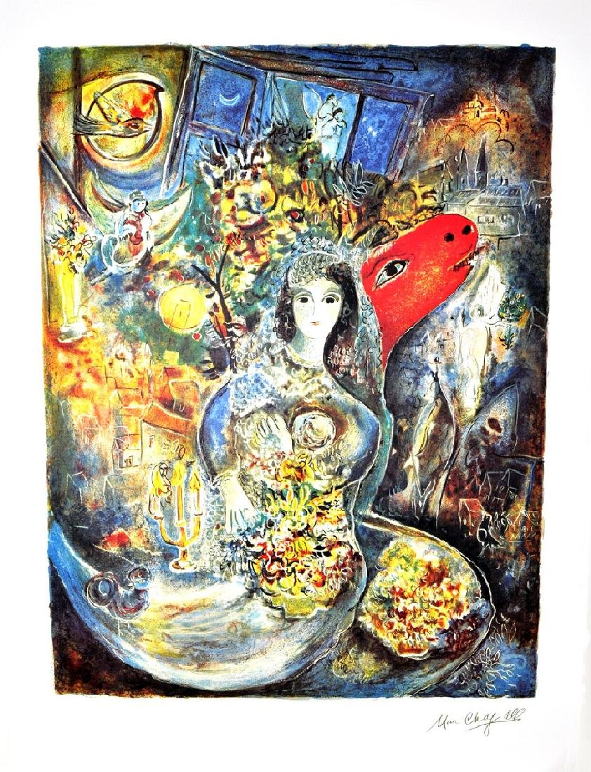 MARC CHAGALL (After) Bella Print, I82 of 500