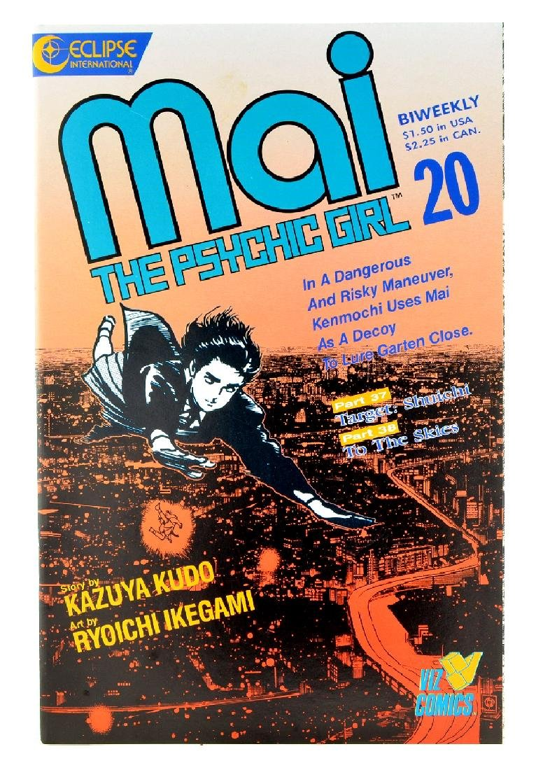 Mai the Psychic Girl (1987) Issue 20