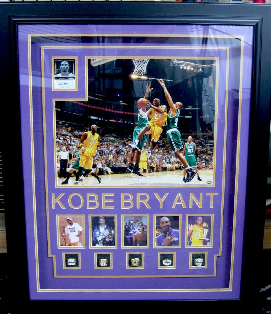 Authentic Kobe Rings Collage