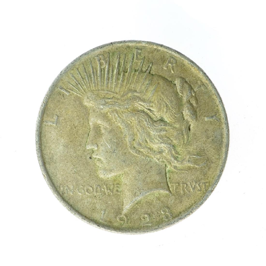 1923 Peace Silver Dollar Coin